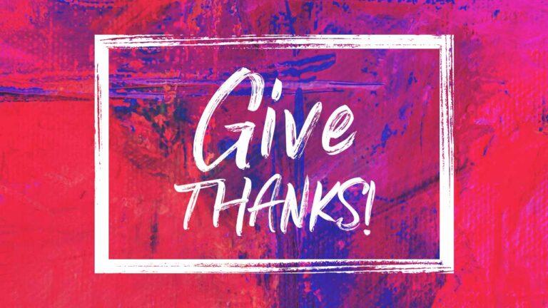 Week of Thanksgiving